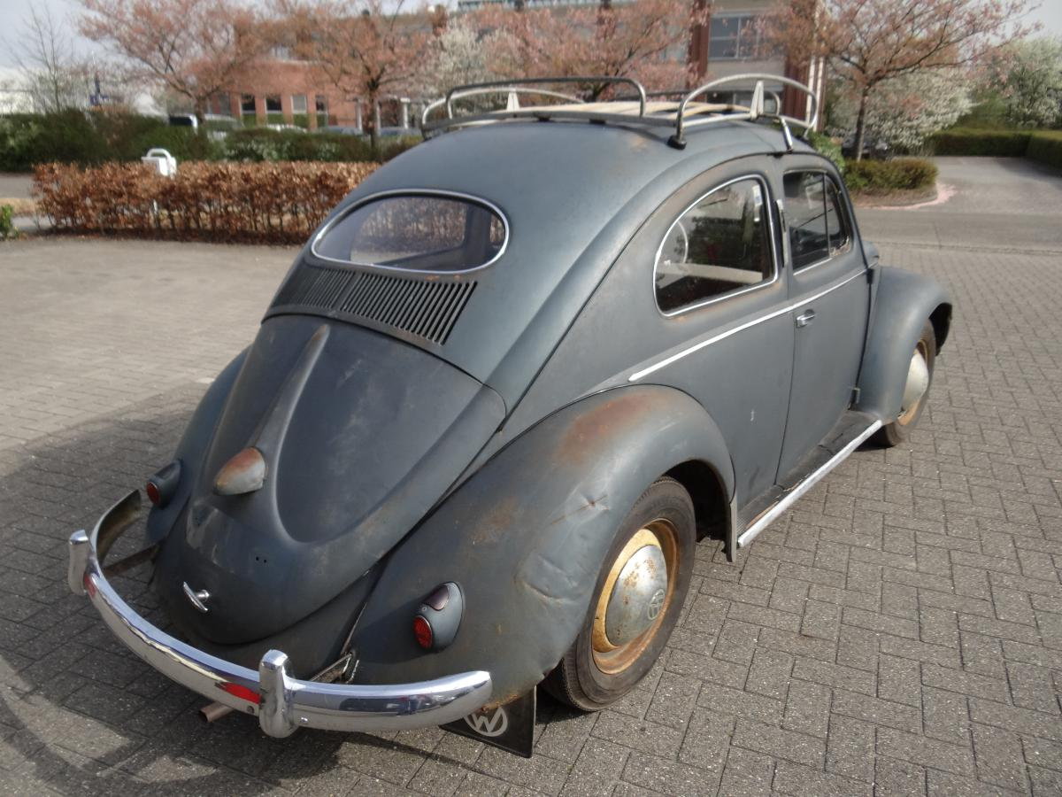 Bbt Nv Blog 187 For Sale 1955 Oval Beetle In Prime