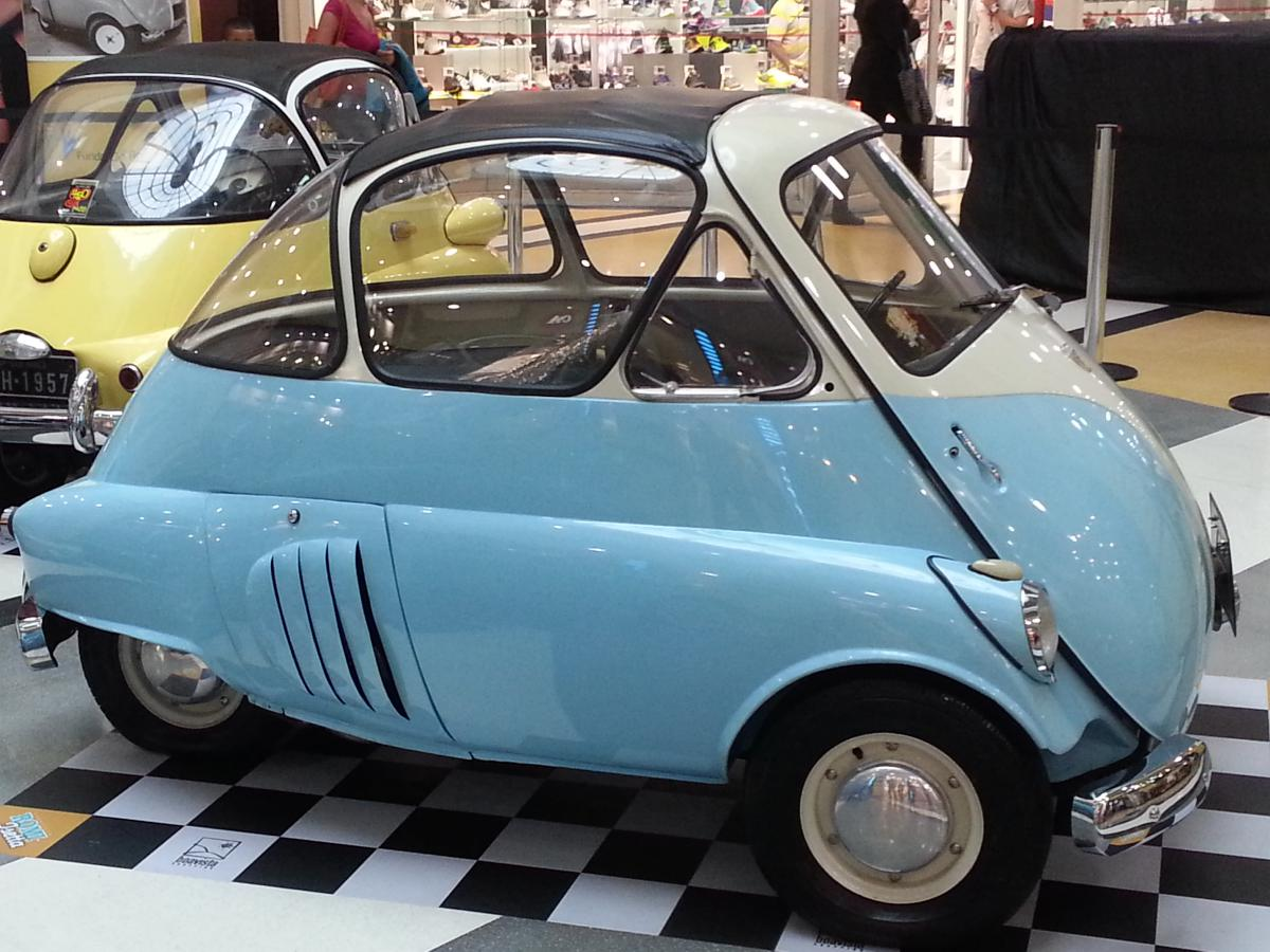 BBT nv // Blog » The first ever Brazilian made car, the Romi Isetta!