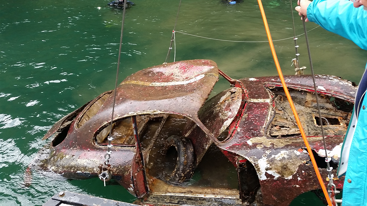 Bbt Nv Blog The Mystery Of The Porsche 356 Into Lake Lucerne