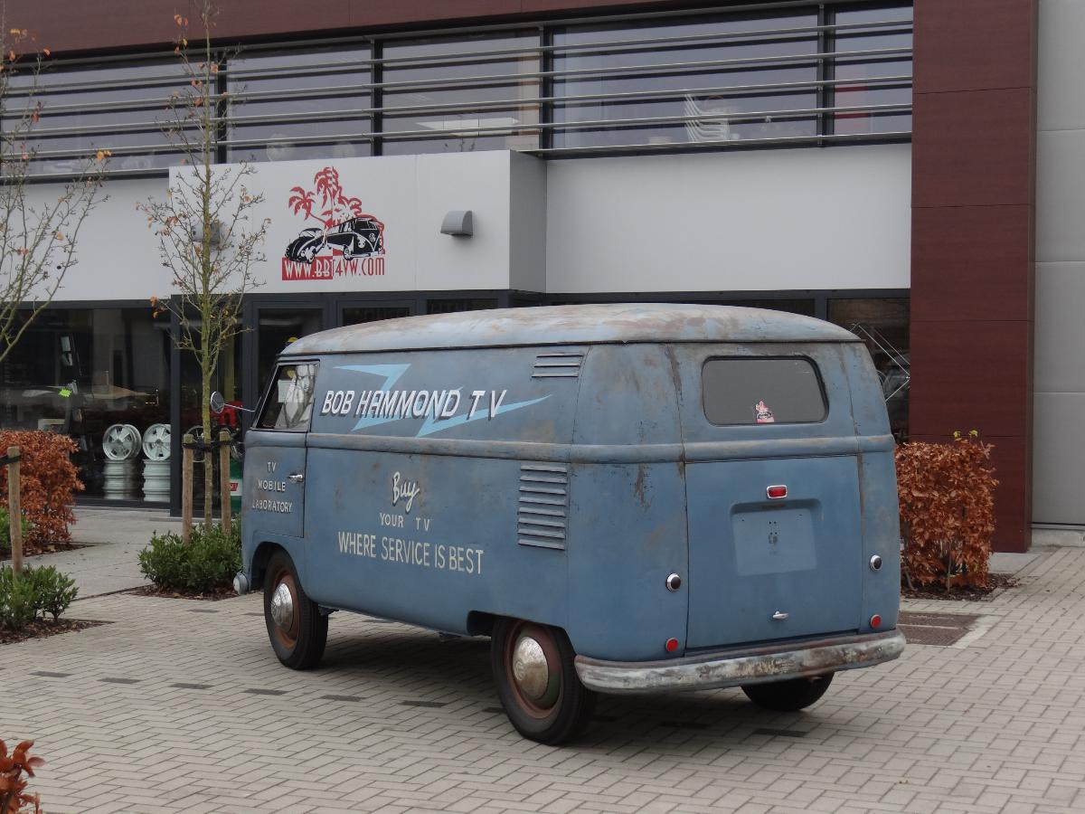 Bbt Nv Blog The 1955 Bob Hammond Barndoor Panel Van Walk