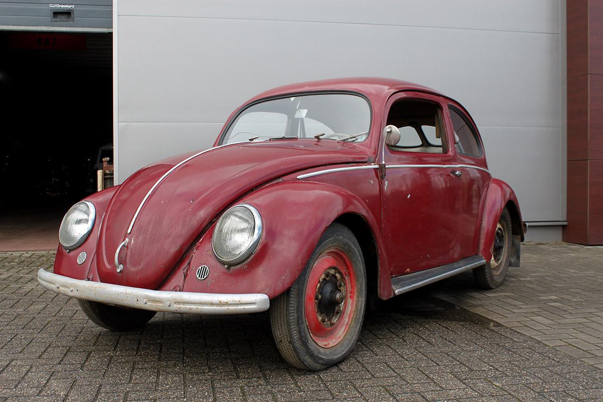 Bbt nv blog for sale 1951 burgundy red master virgin for 1951 volkswagen split window