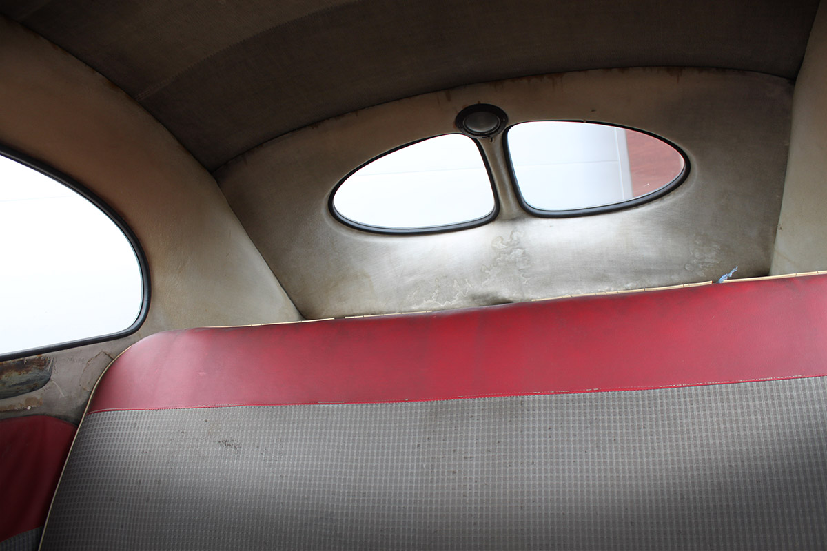 BBT nv // Blog » For sale: 1951 Burgundy Red Master Virgin