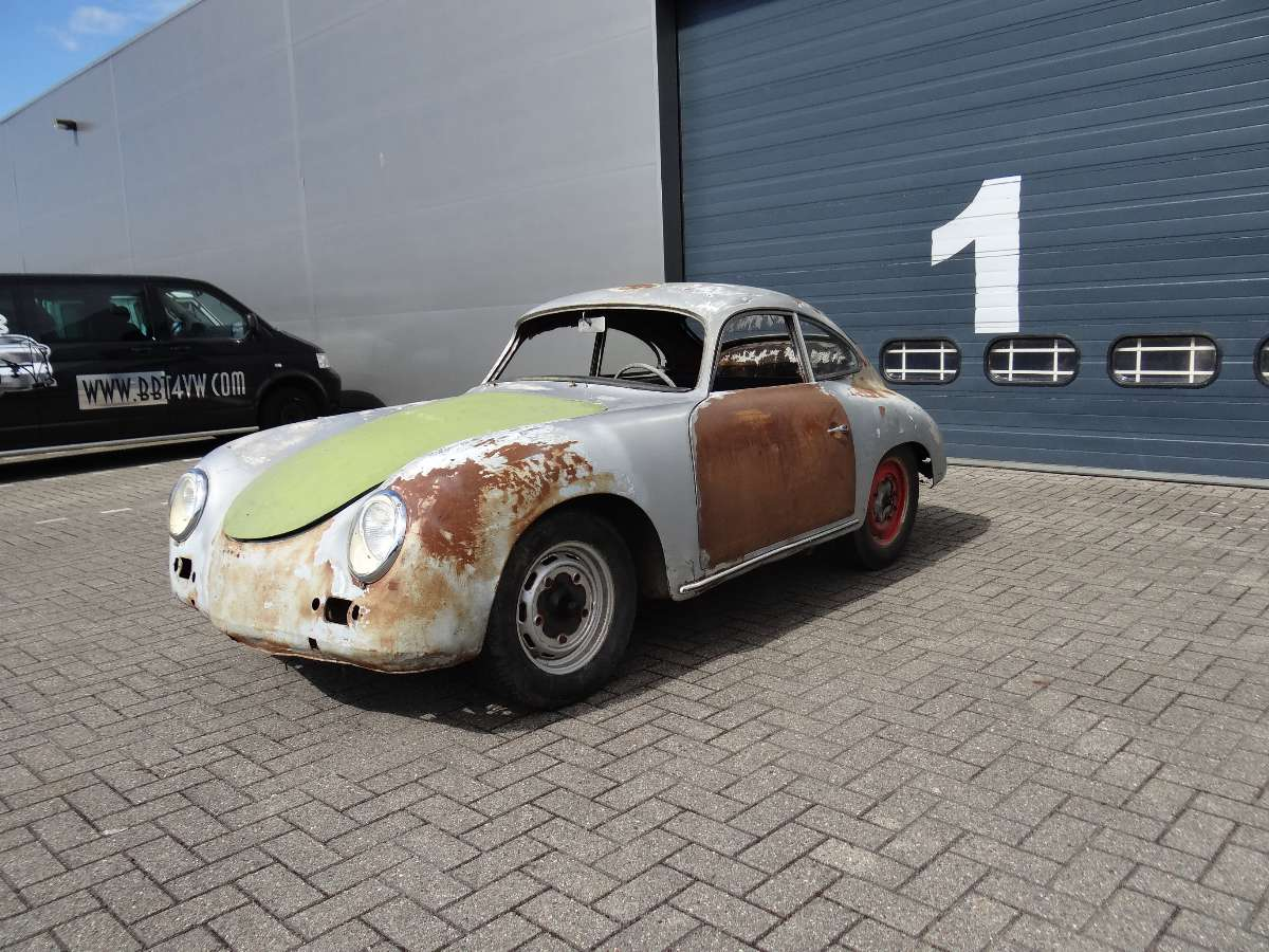 """Cars For Sale Under 1000 >> BBT nv // Blog » For sale; 1957 Porsche 356 """"A"""" coupe, solid project."""