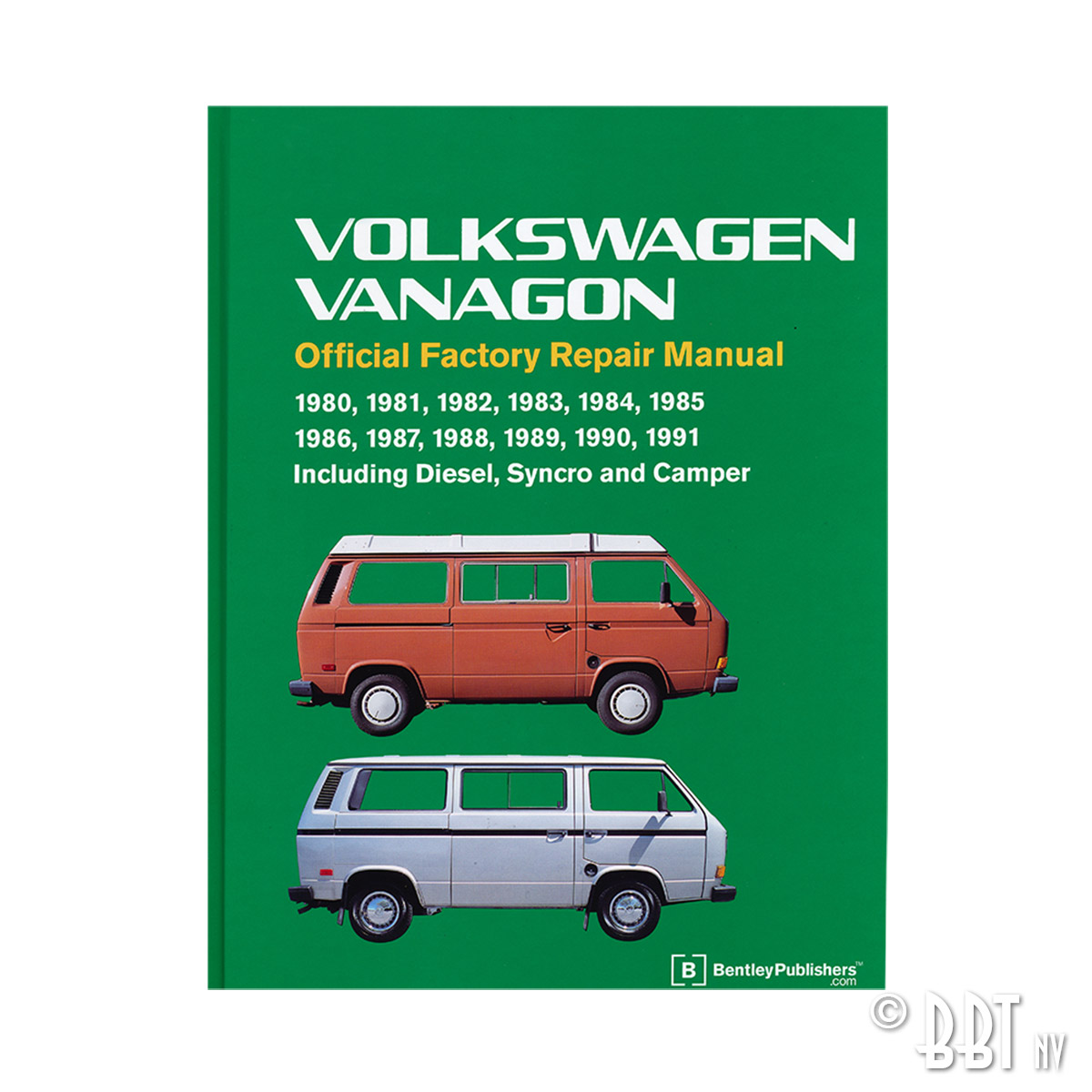 9390-150 Bentley Manual Vanagon 1980-91 (English)