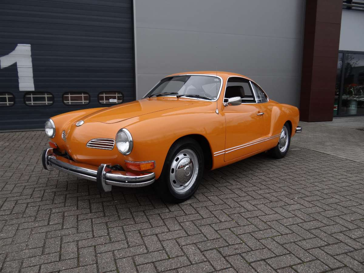 How Much To Repaint A Car >> BBT nv // Blog » For sale; 1973 Karmann Ghia Coupe, Sport-o-matic….Very original! Only 36.000OG ...